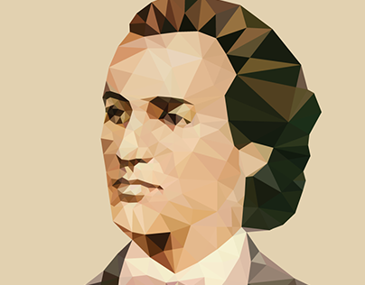 Low Poly Portraits - Great Romanians