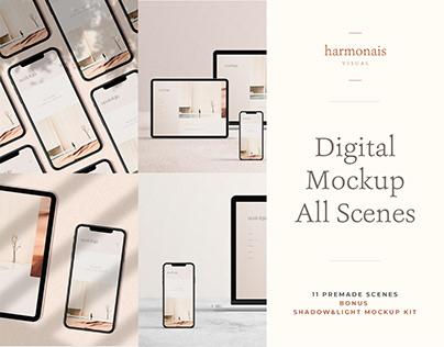 Digital Mockup All Scenes