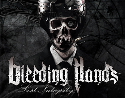 "BLEEDING HANDS ""Lost Integrity"" CD artwork"