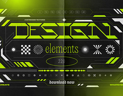 Abstract Design Elements CollectionbySamolevsky