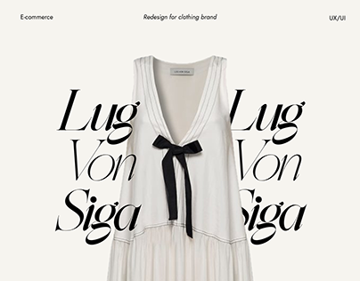 LUG VON SIGA CLOTHES - WEB DESIGN E-COMMERCE
