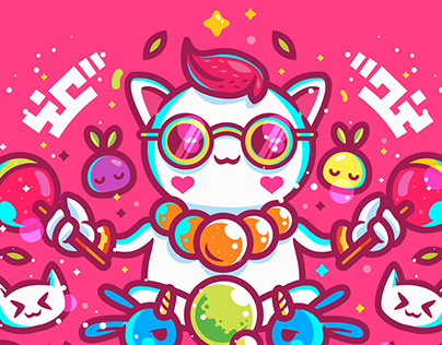 STATE OF NYAN CHARACTER DESIGN