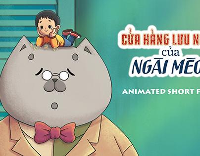 """""""CỬA HÀNG LƯU NIỆM CỦA NGÀI MÈO"""" animation project"""