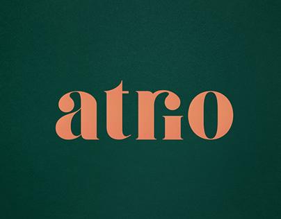 atrio - Brand design