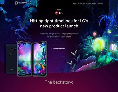 LG Dual Screen - Digitaland Case