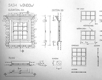 Doors and Windows Drafting Examples
