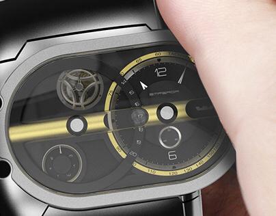 EMPEROR concept watch design