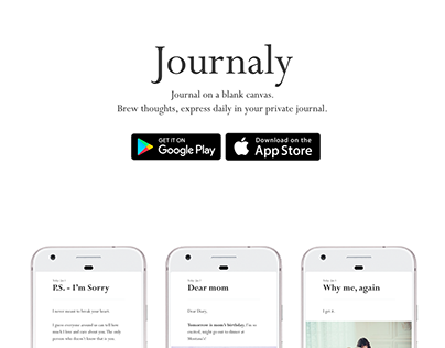 Journaly (Marketing Website)
