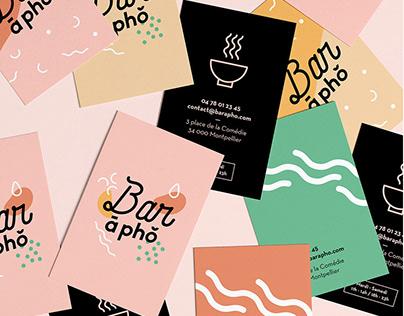 Bar à Phô | Branding