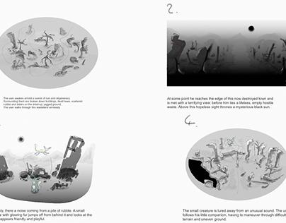 Portfolio Showcase: 360° animated Shortfilm