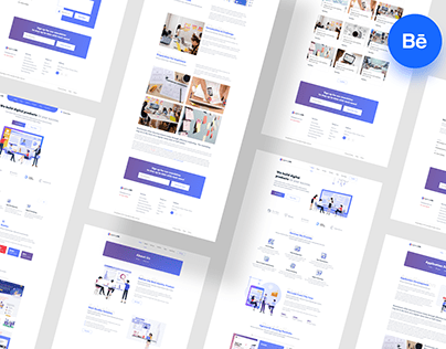 Agencynik - Creative Startup Agency Website UI Design
