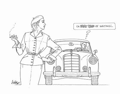 Fashion&Cars 1950's