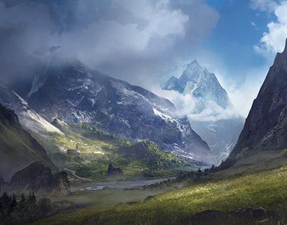 Valley. Environment. https://five-bn.com/