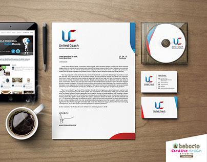 United Coach Logo Development & Stationery