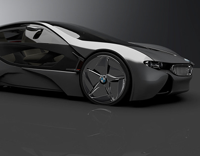 BMW Vision Efficient Dynamics. ( Personal Project).