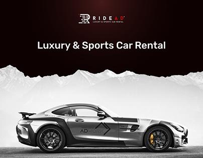Ride Ad - Luxury&Sport Car Rental