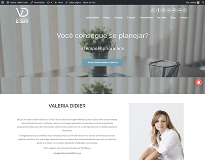 Website Valeria Didier Coach