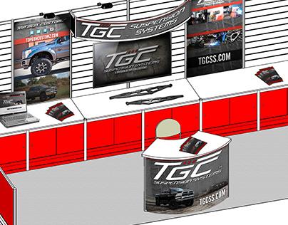 TGC™ SEMA Booth Graphics