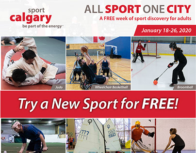 Sport Calgary: All Sport Events