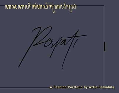 Respati (A Fashion Portfolio) by Azlia Salsabila