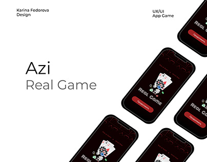 """Card Game App """"AZI Real Game"""""""