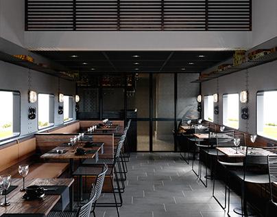 INN TRAIN CAFE & RESTAURANT   CGI