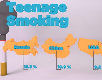 Teenage Smoking Infographic