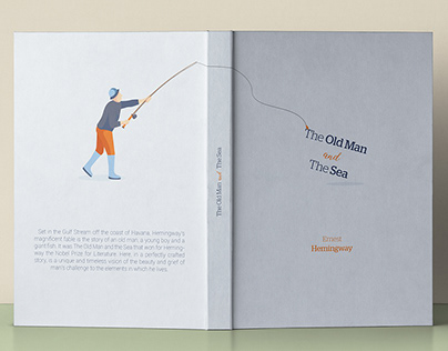 Book Cover Project - The Old Man and The Sea