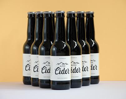 Alpen Spirit - Alpen Cider Branding