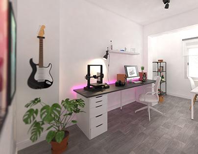 Home office CGI