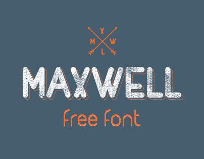 MAXWELL (Free typefamily)