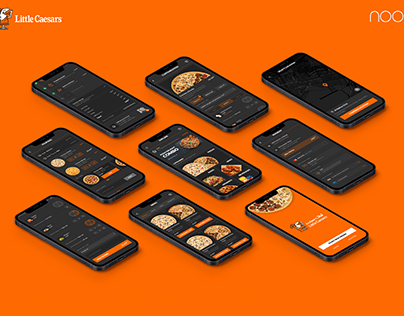 UX & UI Design for Little Ceasers