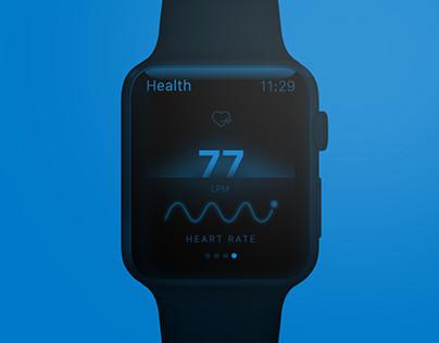 Health -  Apple Watch App Concept