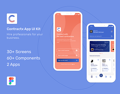 Manage Contracts App UI Kit