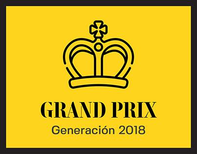GRAND PRIX: Curso de Creatividad Integral 2018