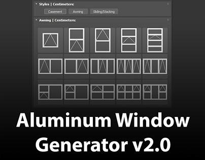 Aluminum Window Generator V2.0
