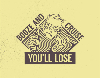 Booze And Cruise You'll Lose campaign rebrand