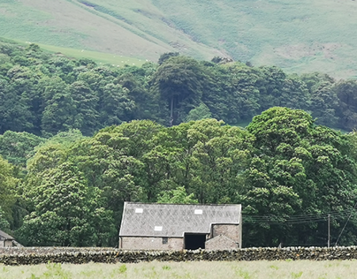 Old farm building in the Forest of Bowland, Lancashire