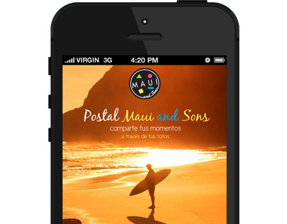 Maui and Sons - UI/UX propuesta app nativa mobile