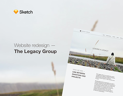 The Legacy Group Redesign