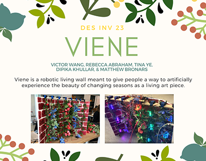 Viene | Robotic Living Wall