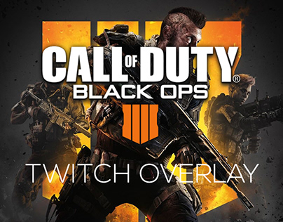 Call of Duty: Black Ops 4 Twitch Overlay