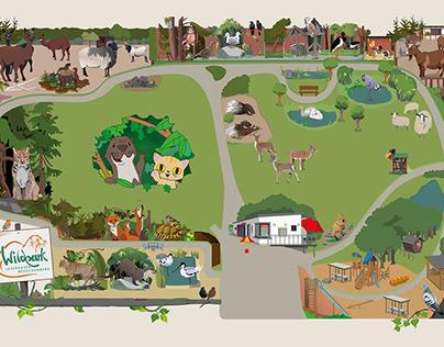 Wildpark Karte