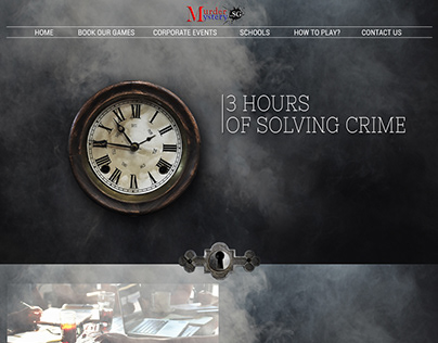 Murder Mystery Website