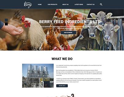 Berryfeedingredients.co.uk landing Page