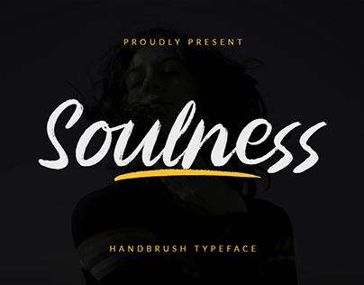Soulness - Handbrush Typeface