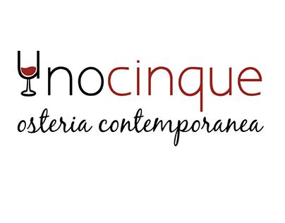 Unocinque - Osteria Contemporanea   Logo Design