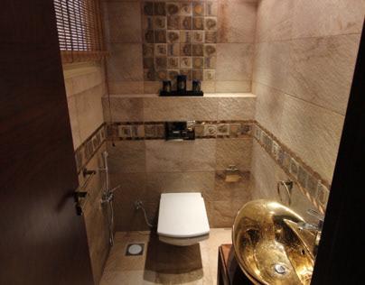 Master bath & guest toilet