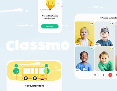 Classmo - Virtual Classroom UI/UX