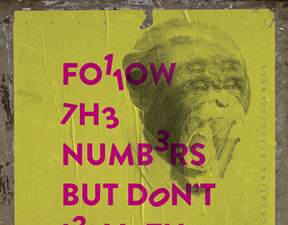 Follow The Numbers - Poster